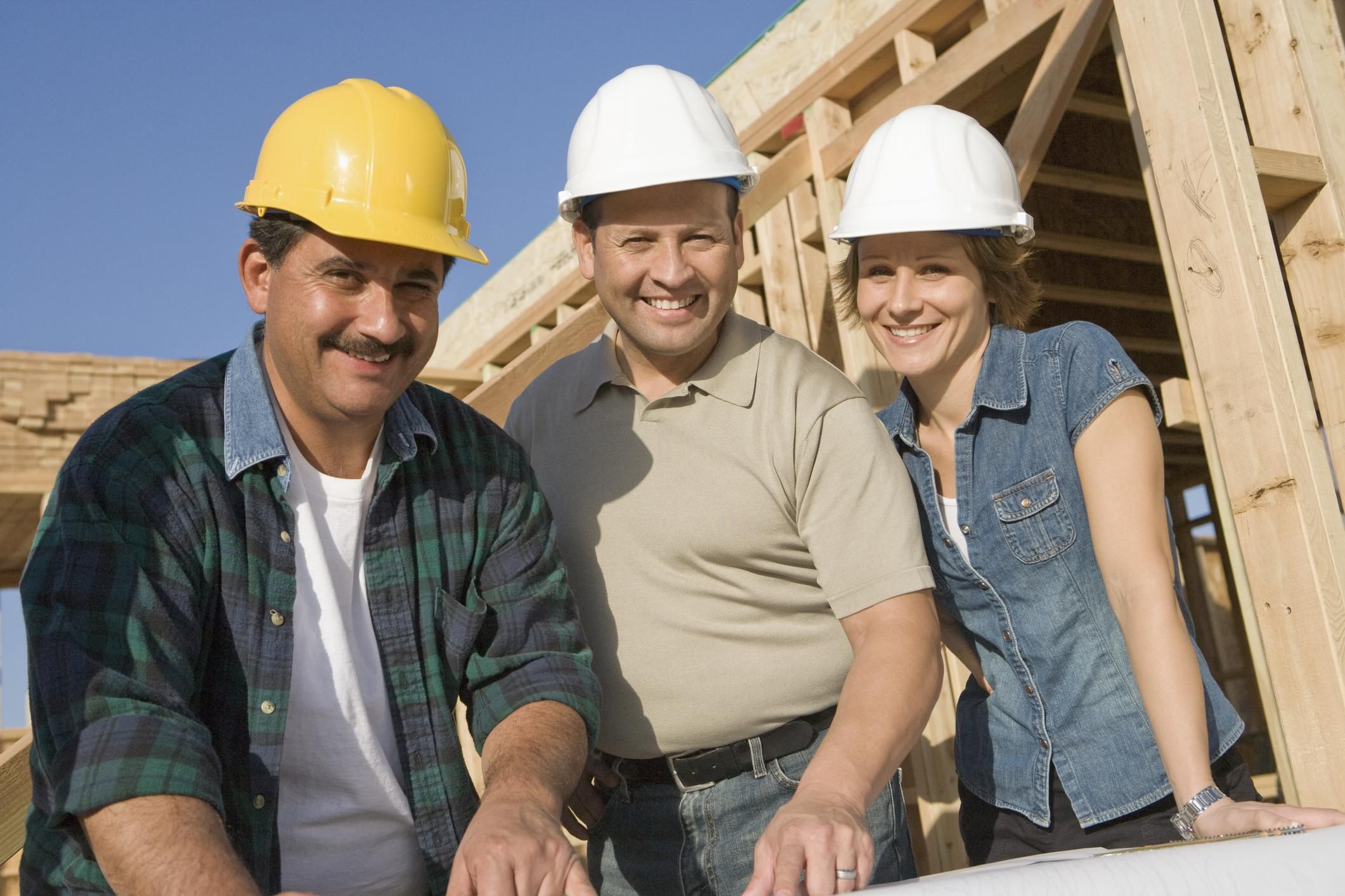 This is a picture of a remodeling contractors.